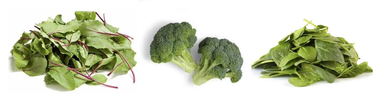 grönsaker med järn
