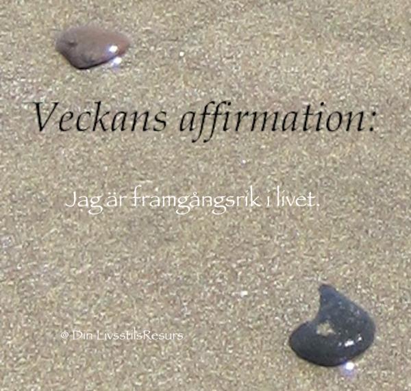 Veckans affirmation (38a)
