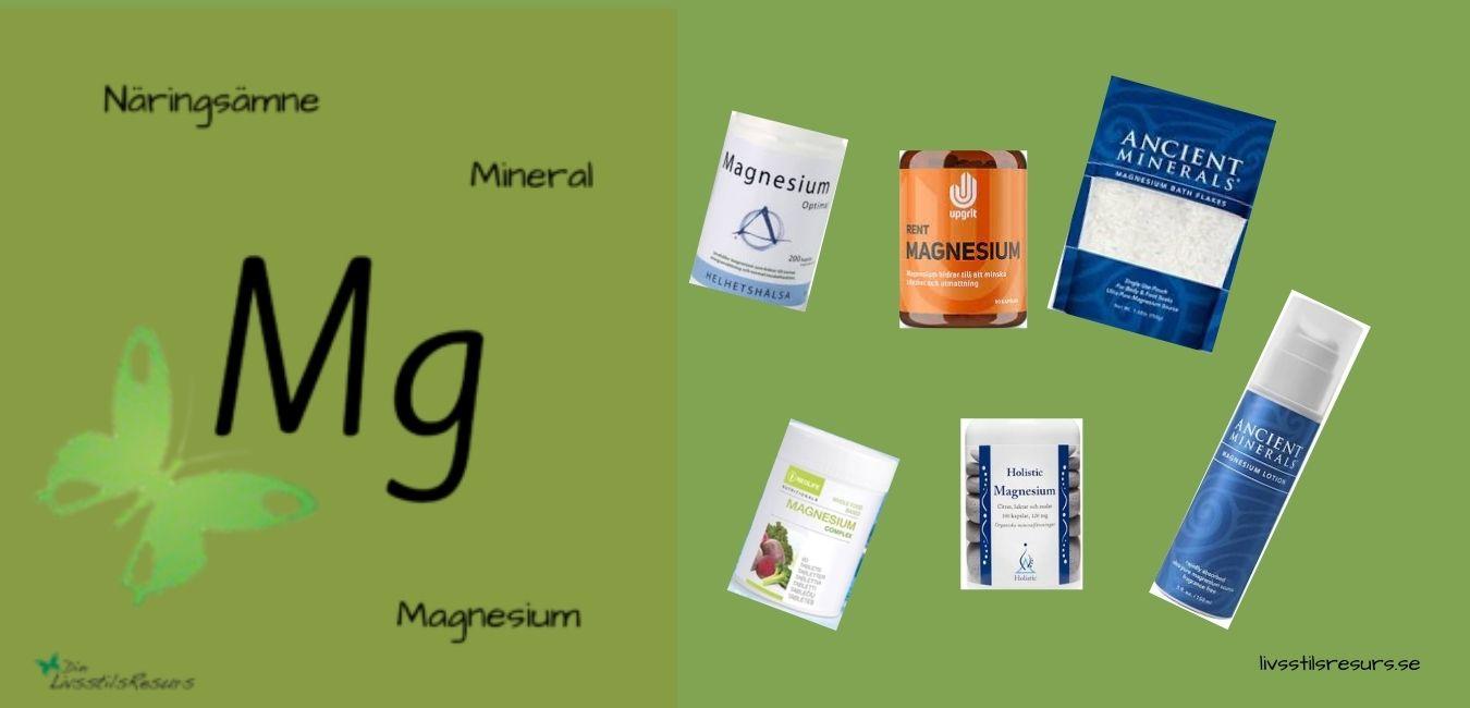 Magnesium som tillskott