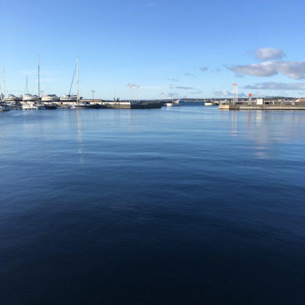 Havet Norra Hamnen Helsingborg