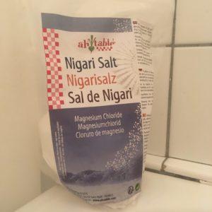 Nigarisalt magnesium