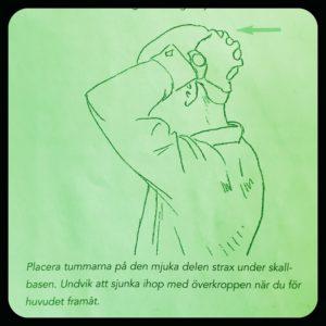 Stretchövning Nackrosetten 1