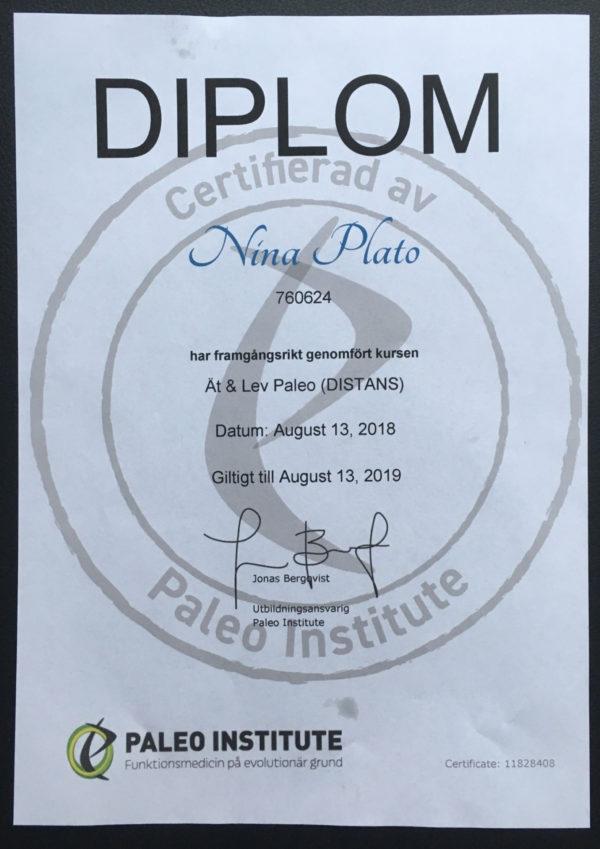Diplom Ät & Lev Paleo